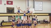 My cheer team