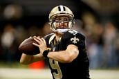 Drew Brees, QB, New Orleans Saints