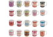 Juliana 'Language of Life' Mugs