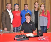Ryan Palermo signs with Rhodes College in Memphis!