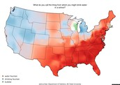 Areas of the US