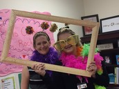 Ms. Casey & Ms. Slaughter's Silly Selfie