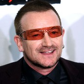 Lead singer of U2 and valuable leader Bono
