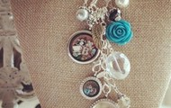 You can never wear enough lockets and dangles!