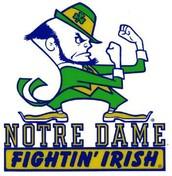 #2 University of Notre Dame