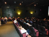 We had a Little Theater full of followers watching the film Generation Found