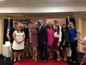 Gators of the Week: Law Center Students Meet Senator Tim Scott