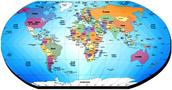 Numero actual que han formado el globo terraqueo