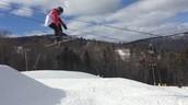 Me gusta esquiar a Gunstock