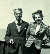 Fritz Pfeffer and his wife