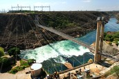 One of Brazil's hydro power plants