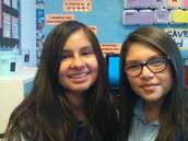 Mia and Daniela