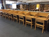 Library Charging spaces for Students!