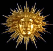 The symbol of the Sun Kings