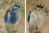 Aral Sea From 1960 To 2003