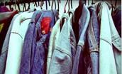 Colecta de ropa en desuso