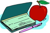 NEW CHECK POLICY FOR LUNCH CHECKS