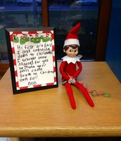 Day 2: Bob loves counting down to Christmas and left us supplies to make our own countdown.