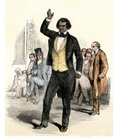 Frederick Douglass in England