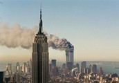 View from the Empire State building on 9/11