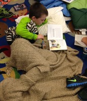 Cozy during Reader's Retreat!