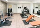 Ein Fitnesscenter