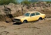 I left my Yellow Datsun in the desert!