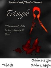 Timber Creek Theatre Presents Triangle, by Laurie Brooks