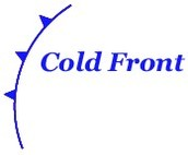 Cold Front Map Symbol