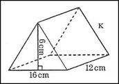 Finding the volume of a prism is very easy. All you have to do is find the area of the base and the height. You can both tell those two measurements by looking at the picture.