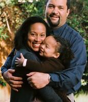 La familia interracial