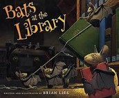 Bats in the Library by Brian Lies.