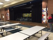 Stage in Cafeteria