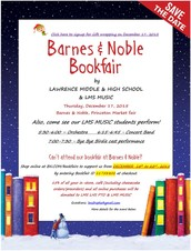 The Barnes and Noble Book Fair is Here!