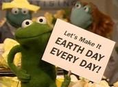 An Earth Day Slogan