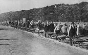 Construction on the Pennsylvania Railroad .