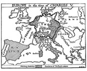Europe under the rule of Charles V