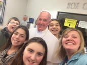 Selfie with the Pope!