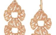 Geneve Lace Linear Earrings