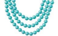 La Coco Turquoise Bead Necklace $20
