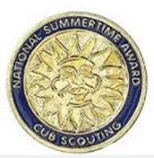 Summertime Activity Award