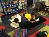 Ms. Krainer's Reading Area
