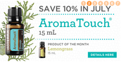 10% off AromaTouch!