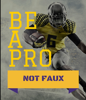 Be a Pro not Faux
