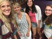Selfies with Mrs. Dieckman!