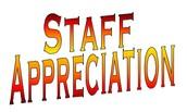 "Happy ""STAFF APPRECIATION WEEK"""