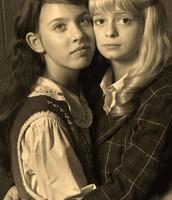 Ellen and Annemarie