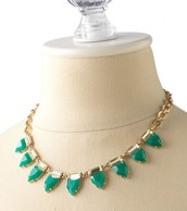 Eye Candy Necklace (Emerald Green)