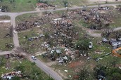 tornado destruction ally