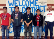 UIL Social Studies Team Win in Disrict